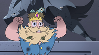 S4E3 River Butterfly flexing his muscles