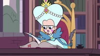 S3E17 Queen Butterfly doing legal research