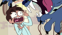 S1E14 Marco attacked by a blue lion