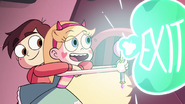 S3E14 Star Butterfly casting Fantastic Exit Beam