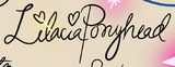 S3E20 Lilacia Pony Head's signature