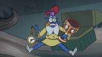 S4E23 Glossaryck holding some of Star's stuff