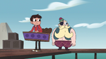 S4E2 Marco and River notice Star is gone