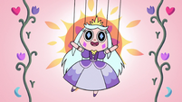 S2E40 Princess Moon puppet on a sunny day