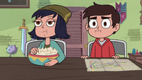 S3E23 Marco and Janna sitting next to each other