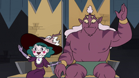 S4E25 Eclipsa Butterfly 'I don't know'