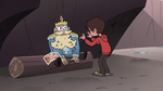 S4E1 Marco teaching River about hygiene