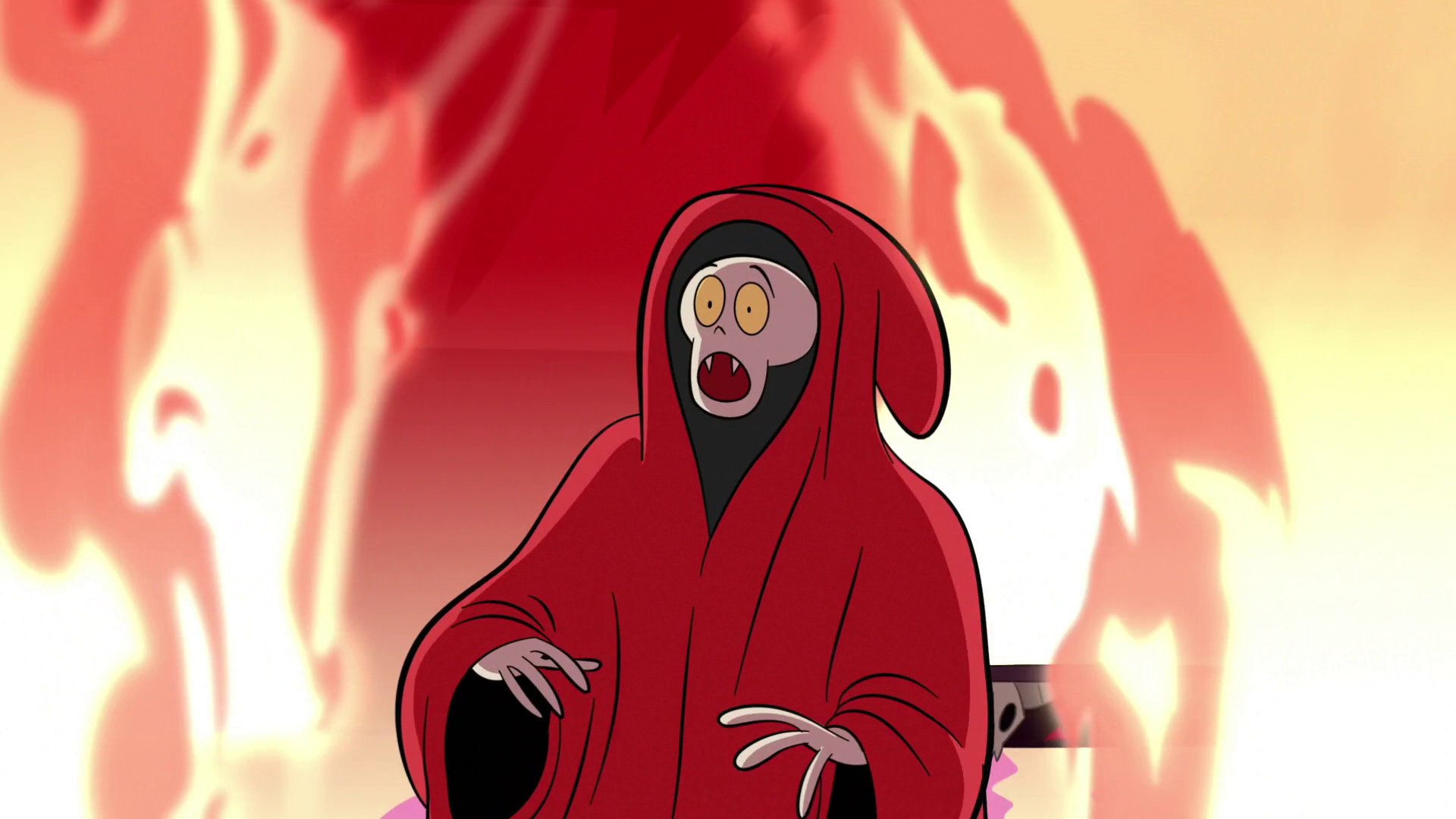 S1E15 Demon Photographer Surrounded By Fire