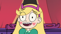 S2E29 Star Butterfly trying to cheer up the guests