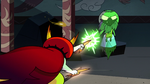 S2E41 Hekapoo attacking Ludo-Toffee