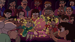 S2E14 Theater patrons throw popcorn at Star and friends
