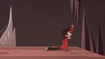 S4E2 Marco Diaz left behind on the cliff