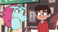 S2E24 Marco and Pony Head declaring a truce