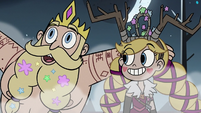 S3E27 King Butterfly declaring 'bog party!'