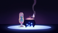 S3E7 Star Butterfly and Glossaryck in purgatory