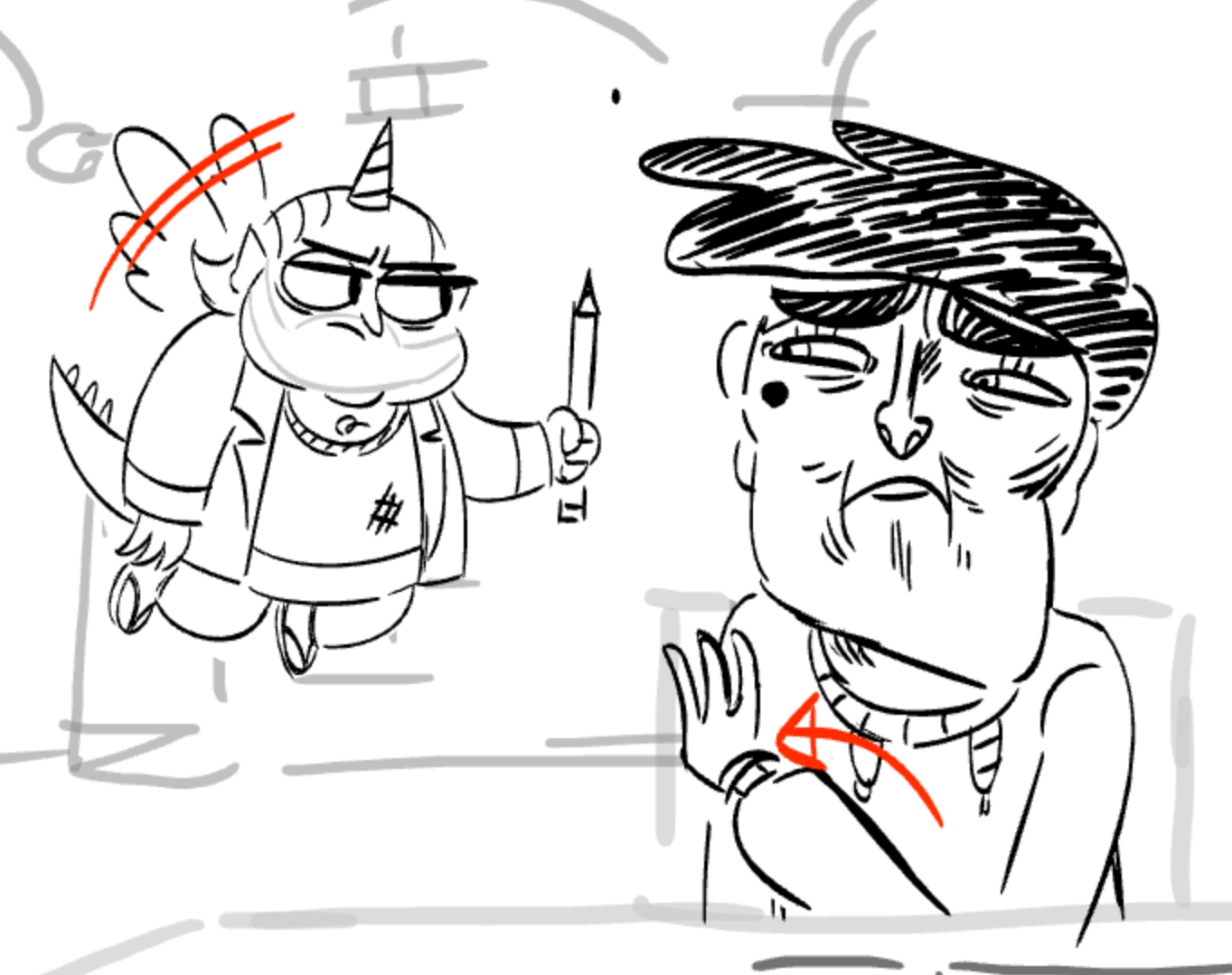 Image - Marco Jr. storyboard 2 by Ariel VH.png | Star vs. the Forces ...