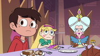S3E18 Star, Marco, and Moon looking at River