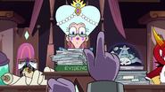 S3E29 Eclipsa interrupting the trial