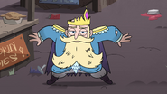 S4E1 River's crown lands back on his head