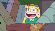S2E10 Star Butterfly pops out of camping gear