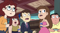 S2E41 Party guests looking at Star Butterfly