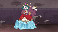 S4E24 Globgor frees Eclipsa from the crystal