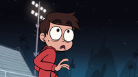 S1E4 Marco looking at squirrels