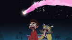 S1E4 Spirit Boy goes flying over Marco and Star