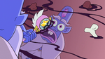 S2E1 Glossaryck skims the top of hobo stew
