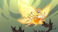 S3E23 Star flying through Dimension X-103
