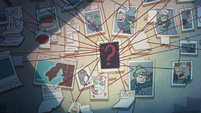 S1E6 Star's wall of Gustav theories