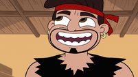 S2E4 Dojo Sensei laughing at Marco