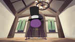 S2E22 Spider With a Top Hat in fully restored house