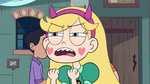 S2E41 Star Butterfly tells herself 'be classy'