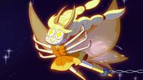 S3E18 Mewberty Star flies through the void