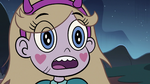 S3E5 Star Butterfly imitating the frog's croak