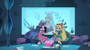 S3E18 Star Butterfly consults Eclipsa over tea