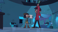 S3E23 Marco summoning the All-Seeing Eye