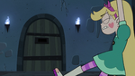 S3E7 Star Butterfly struggles to get free