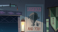 S4E18 'Knighthood and You!' poster
