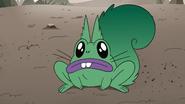 S4E1 Erik turns into a squirrel-frog