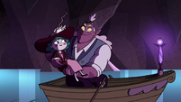 S4E23 Globgor catches Eclipsa in his arms