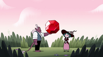 S4E23 Globgor giving the ruby to Eclipsa