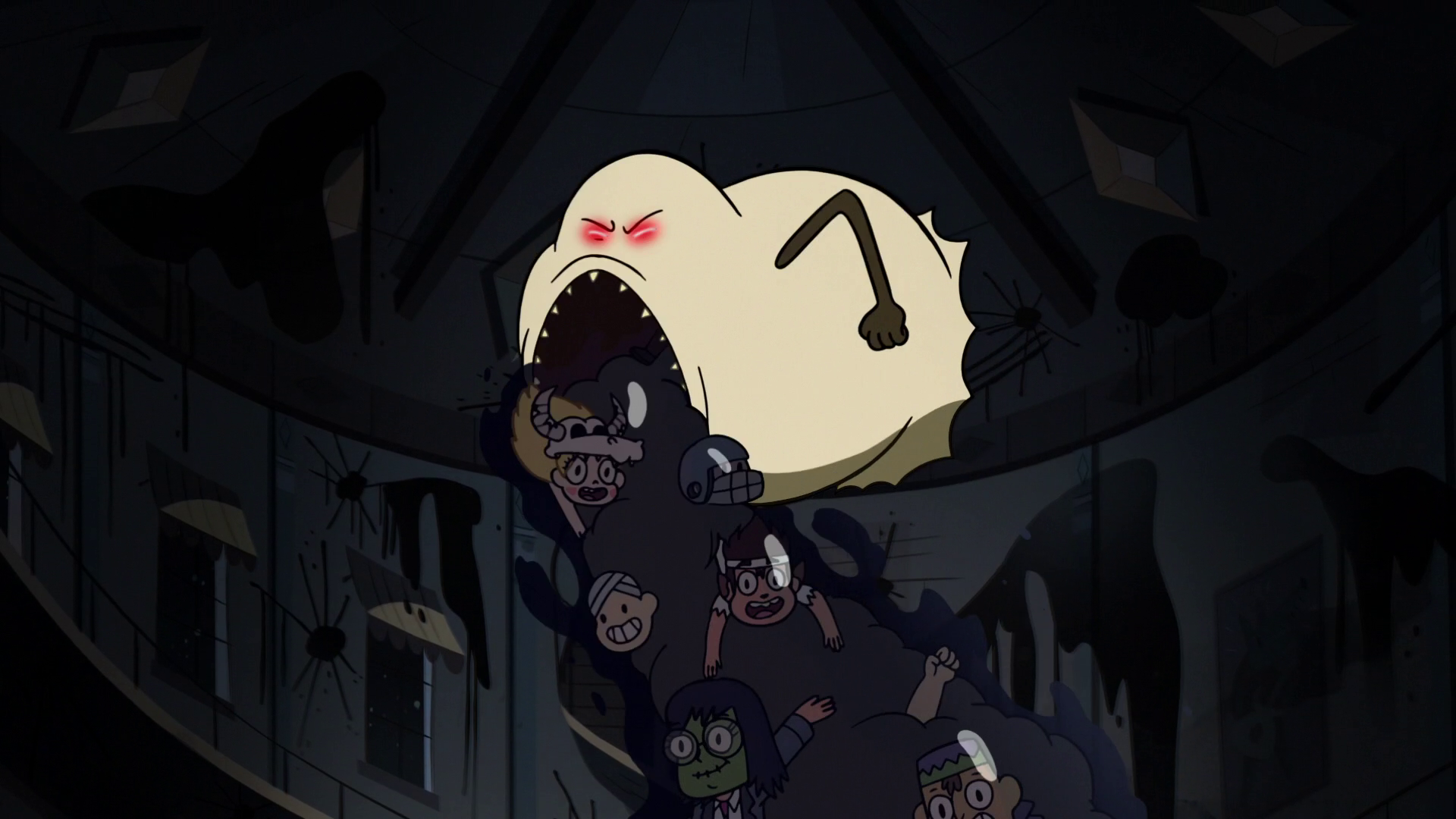 Image - S2E21 Hungry Larry throws up Star, Marco, and Janna.png ...