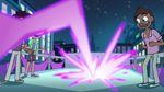 S1E10 Magic beam strikes the party bus roof