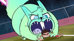 S1E4 Flying squirrel about to eat Marco