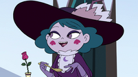 S4E7 Eclipsa 'comfortable at the Queen's table'