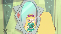 S2E1 Star Butterfly taking a calming breath