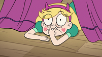 S2E29 Star Butterfly keeping an eye on Preston