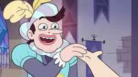S3E10 Manfred taking Star Butterfly by the hand
